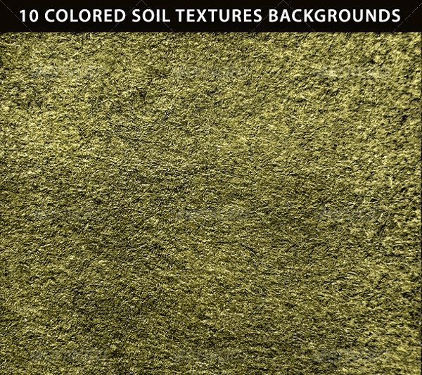 10 Colored Soil Texture Backgrounds
