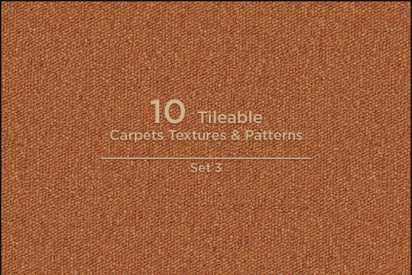 10 Tileable Carpet Patterns