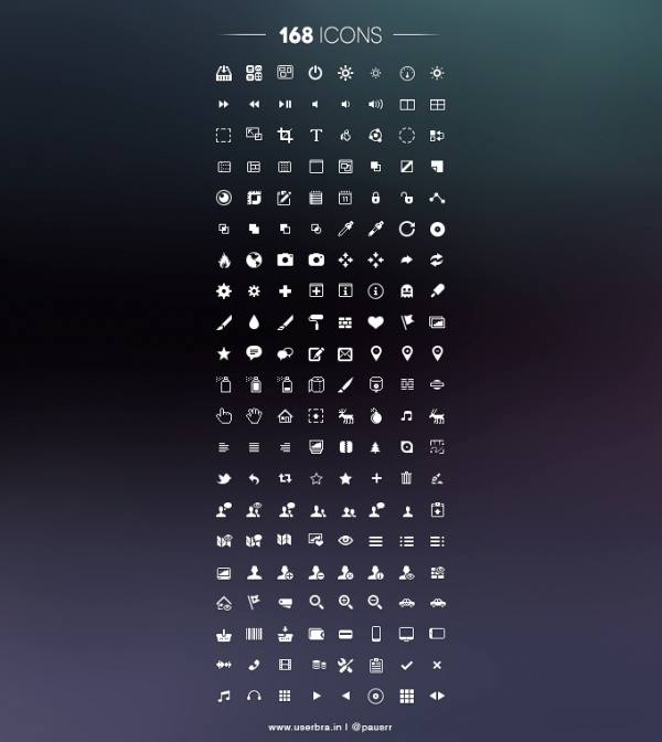 168 Rounded line Ui Icons