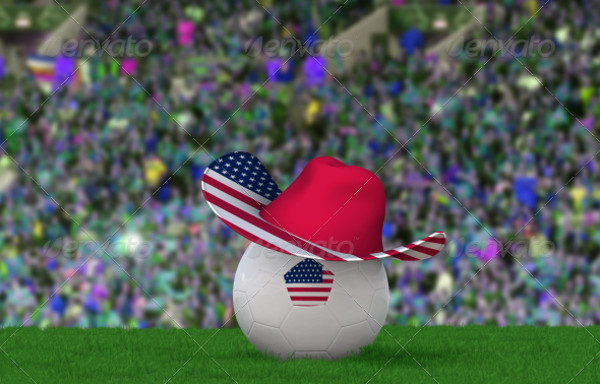 2 Football Fan Hat Mockups