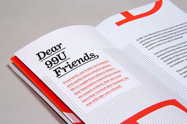 99u conference branding