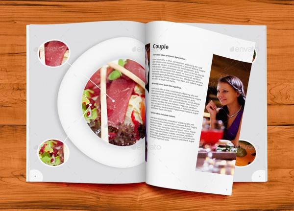 A4 Restaurant Brochure
