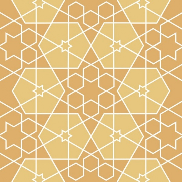 Abstract Islamic Decorative Pattern