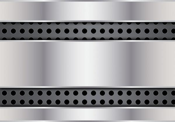 abstract metal dot vector