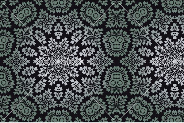 Abstract Ornamental Baroque Pattern