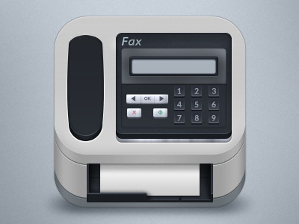 Advanced fax icon