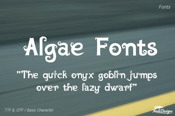 Algae Fantasy Font