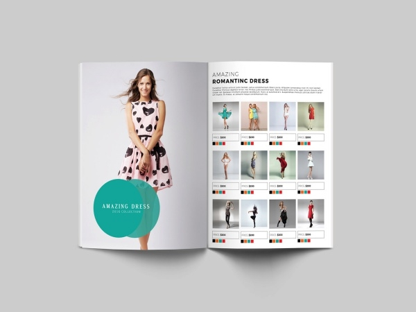 Amazing Fashion Product Brochure