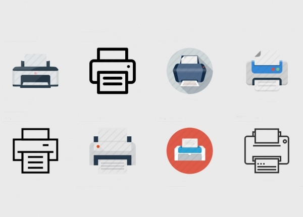 Amazing Printer Icons