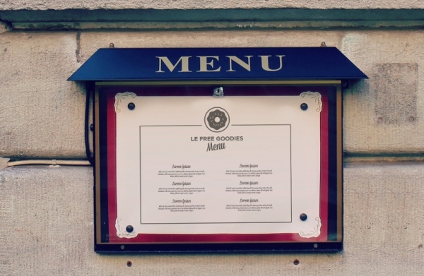 Amazing Restaurant Menu Mock-Up