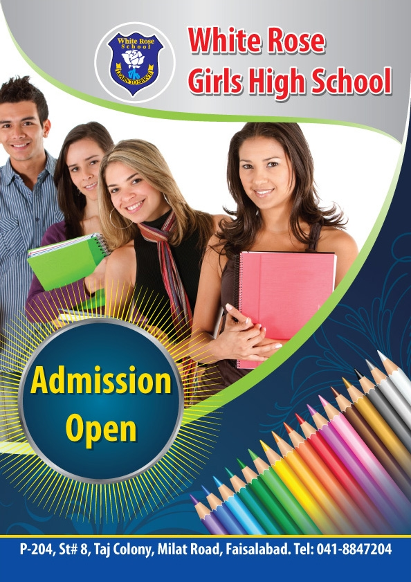 School Brochure Designs FreeCreatives - High school brochure template