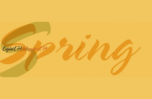 Amazing Spring Font