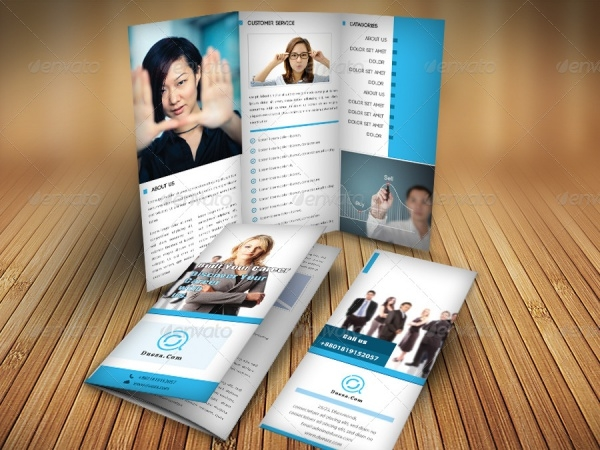Amazing Tri-fold Brochure Design