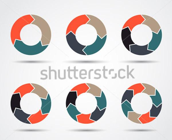 Amazing Vector circle arrows