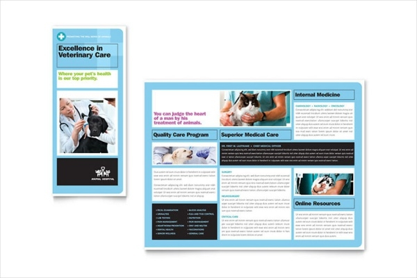 Animal Hospital Brochure