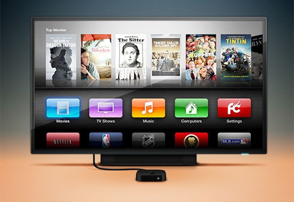 Apple TV Mockup Shots