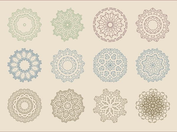 Arabic Baroque Patterns