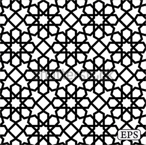Arabic islamic pattern background