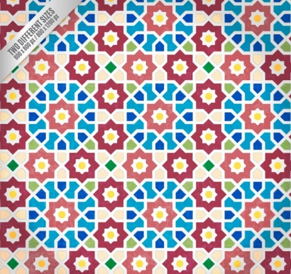 Arabic mosaic Art  pattern