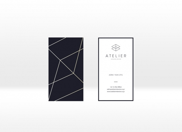 Attirant Atelier Interior Design Business Card