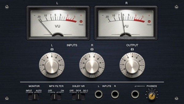audio equipment ui vector