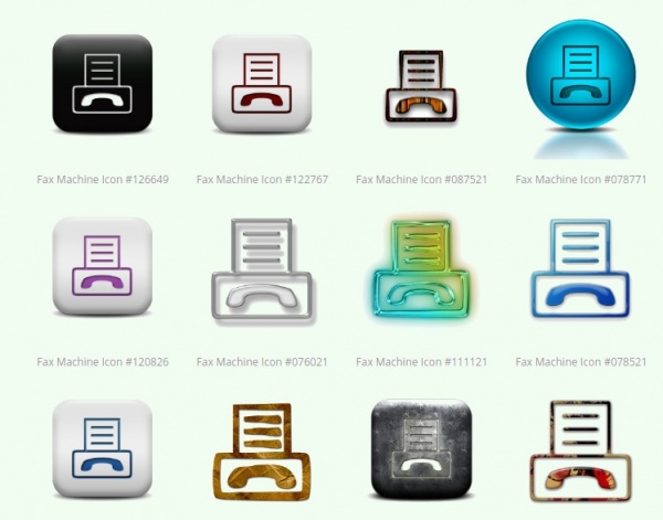 Awesome Fax Icons