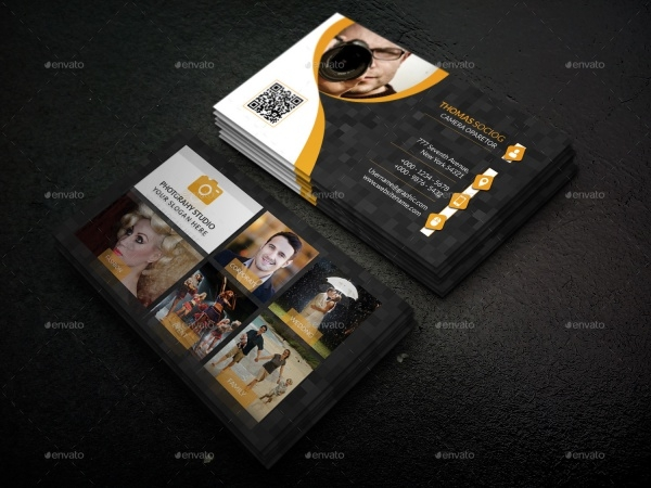 10 photography business card designs freecreatives awesome photography business card design reheart Image collections