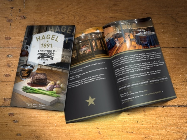 Awesome Restaurant Brochure