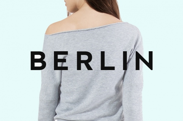 BERLIN - Minimal Typeface