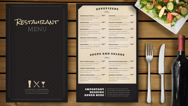 15 restaurant menu mockups freecreatives