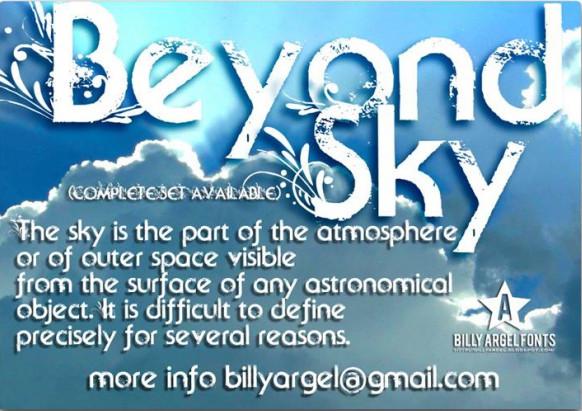 Beyond Sky font