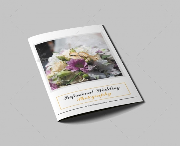 Bi-Fold Wedding Portfolio Brochure