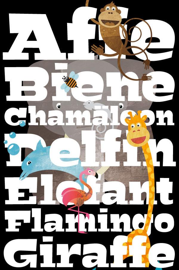 Bigfish Cartoon Fonts