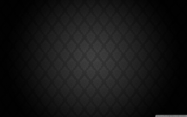 Black Baroque Pattern Wallpaper