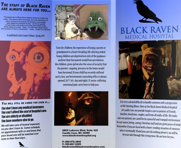 Black Raven Medical Hospital Brochure
