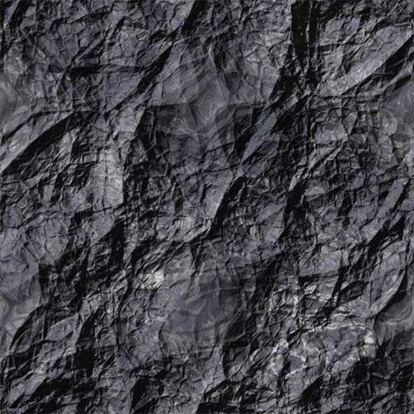 Black Sedimentary Rock Texture