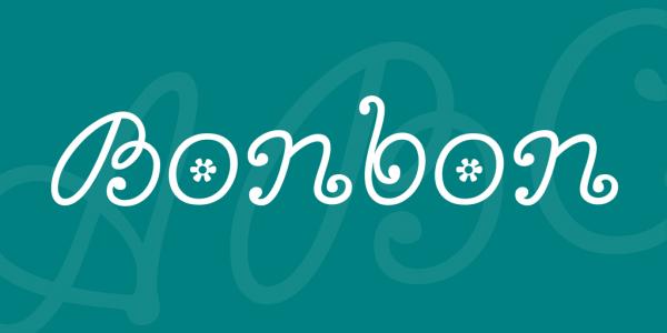 Bonbon Artistic Font