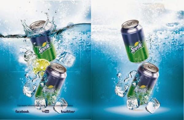 Bottle Can Water Logo Mockup