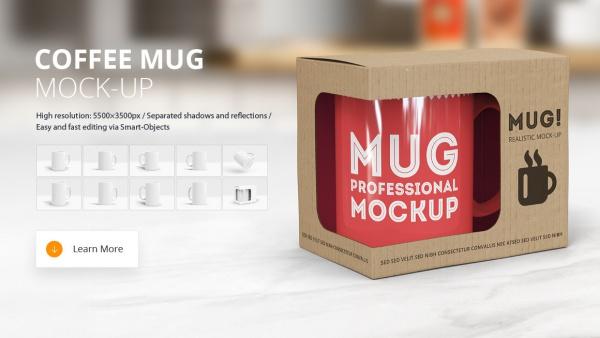Branding Coffee Mug Mockup