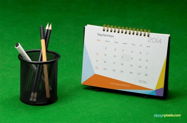 branding identity calendar mockup1