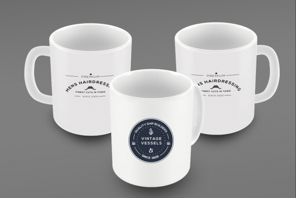 Branding Identity Mug Mockup