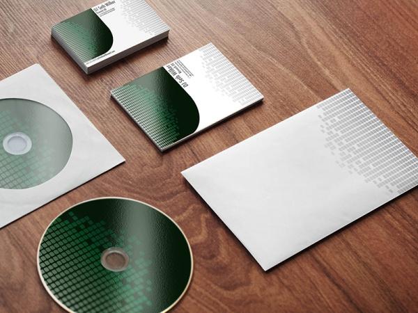 Branding Stationery CDMockup