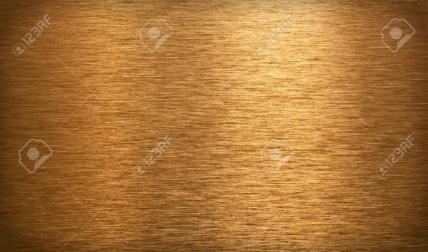 Bronze surface texture with light reflection