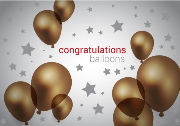 Brown Balloons Vector