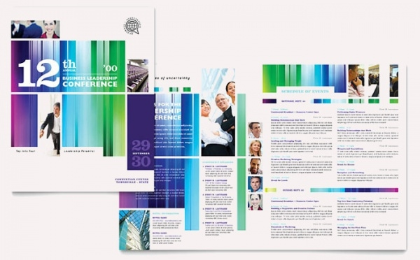 Business Leadership Conference Brochure