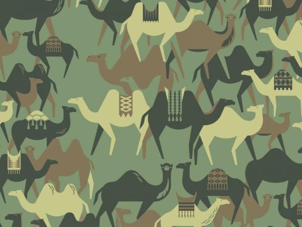 Camel Camoflauge Pattern