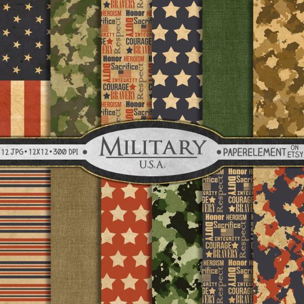 Camoflauge Army Pattern