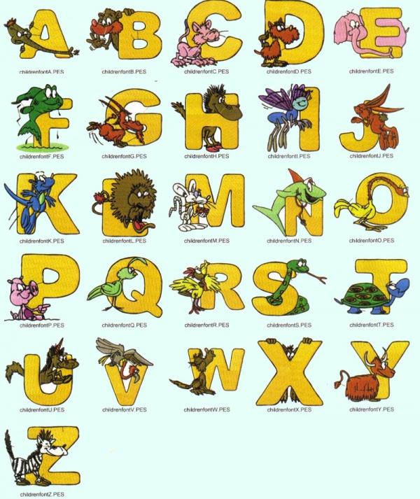 Cartoon Fonts For Desktop