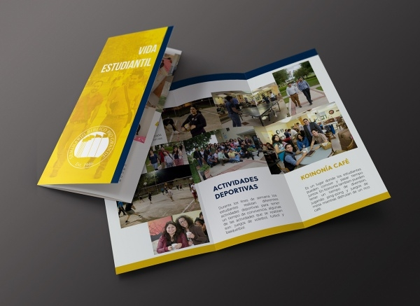 christian school brochure design