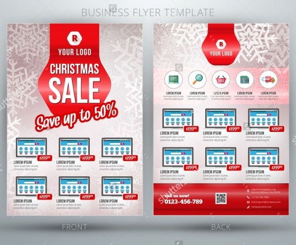 Christmas Shopping Sale Brochure